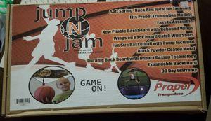 Trampoline basketball hoop for Sale in Virginia Beach, VA