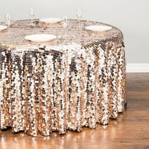"""Blush Payette Sequin Tablecloth 120"""" for Sale in Humble, TX"""