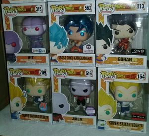 dragonball z exclusives funko pop for Sale in Los Angeles, CA