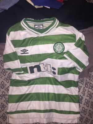 Vintage Celtic FB club soccer jersey M for Sale in Queens, NY
