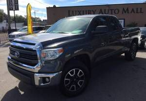 """TOYOTA TUNDRA SR5 V8 2014 4X4 """"NAVIGATION"""" $4998 DOWN $420 MONTHLY-$18998(7414 N FLORIDA AVE (Please ask for Toris luxury auto mall"""