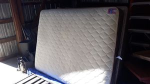 Queen size bed in and box spring for Sale in Hesperia, CA