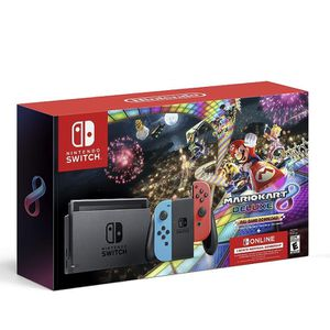 Nintendo Switc w/ Neon Blue & Neon Red Joy-Con, And Mario Kart™ 8 Deluxe (Full Game Download) for Sale in Santa Ana, CA