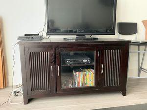 Tv Stand - Mahogany for Sale in Atlanta, GA