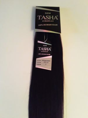 18 inches Weft Human Hair Extensions ( dark brown #2 ) for Sale in Downey, CA