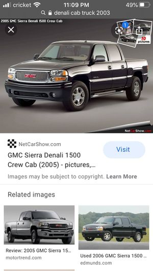 *ISO* Denali front bumper and grill for Sale in Fresno, CA