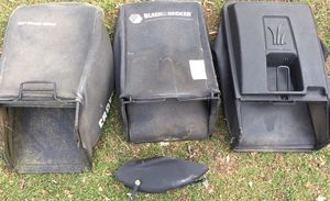 Mower bags Craftsman MTD Black & Decker Excellent Condition for Sale in Mentor, OH