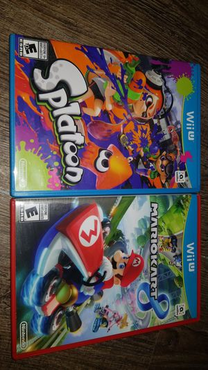 Nintendo Wii U Games for Sale in Baytown, TX