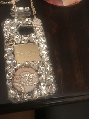 IPhone 7 clear edge CoCo Chanel Case for Sale in Alexandria, VA