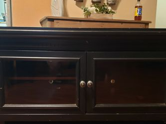 Black TV Stand for Sale in March Air Reserve Base,  CA