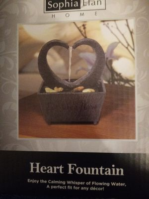 LED heart fountain for Sale in Fresno, CA