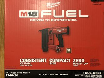 Milwaukee M18 Fuel Brad Nailer for Sale in Haverhill,  MA