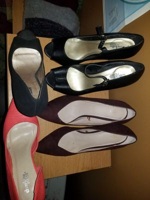4 pairs Size 8! for Sale in Frankford, DE