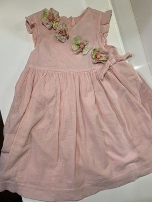 Janie and Jack 12-18 month baby girl flower dress like new! for Sale in Hialeah, FL