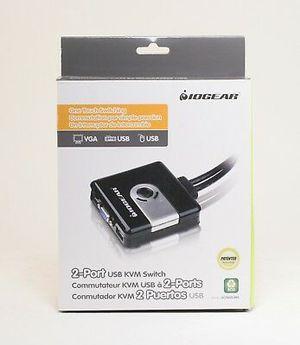 NEW Iogear 2-port USB KVM Switch for Sale in Randolph, MA