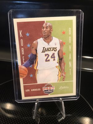 2013 Panini Kobe Bryant NBA Basketball Card - Authentic Lakers Black Mamba Jersey 24 Collectible - MINT - $19 OBO for Sale in CA, US