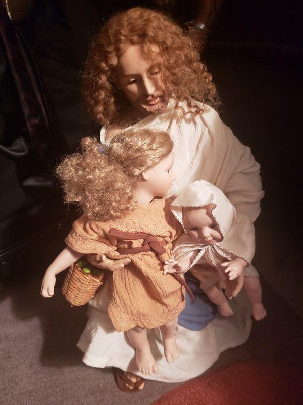 Religious porcelain doll