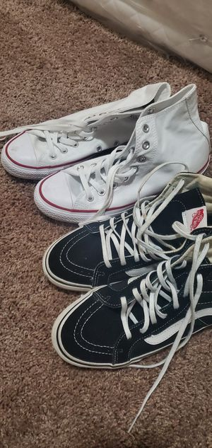 Convers&vans shoes 6.5 men's size 8.5 woman's for Sale in Los Angeles, CA