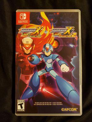 Mega Man X legacy collection Nintendo switch for Sale in Arlington, WA