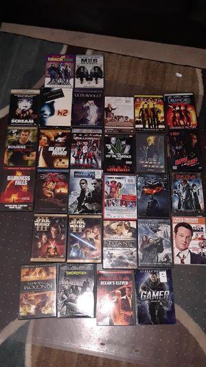 60 dvd son 60 peliculas en buenas condiciones todas por $15 for Sale in Hyattsville, MD
