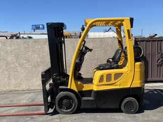 2017 Hyster 5000lbs 3 Stage Propane Side Shift Forklift for Sale in Pico Rivera,  CA