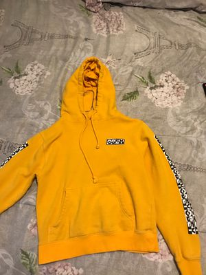 Yellow obey hoodie for Sale in Long Beach, CA