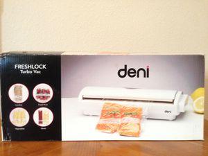LIKE NEW Deni FreshLock Turbo Vacuum Sealer Kitchen Appliances for Sale in Clovis, CA