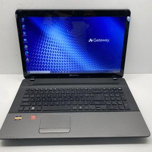 Gateway NV755, AMD A8-3500M, with Radeon Graphics, 4 GB RAM, 120 GB SSD, Wireless Wifi, Webcam, DVDRW, HDMI port, SD Card Reader, Windows 10 Pro 64 for Sale in Centreville, VA