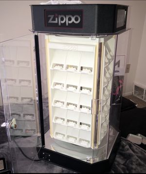 Zippo display case NEED GONE TODAY for Sale in Clinton Township, MI