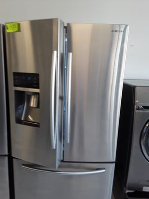 Samsung stainless steel side by side for Sale in Mount Rainier, MD