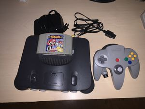 Nintendo 64 with Smash Brothers for Sale in Hollywood, FL