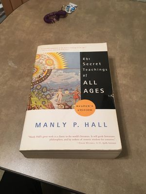 Secret teachings of all ages by Manly P Hall for Sale in Lubbock, TX