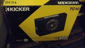Kicker (speaker) for Sale in GOODLETTSVLLE, TN