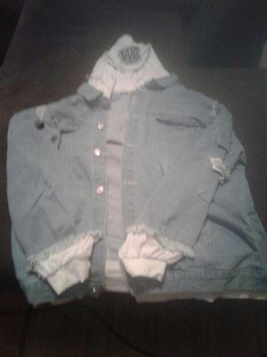 Bluejean shirt jacjet . for Sale in Centralia, WV