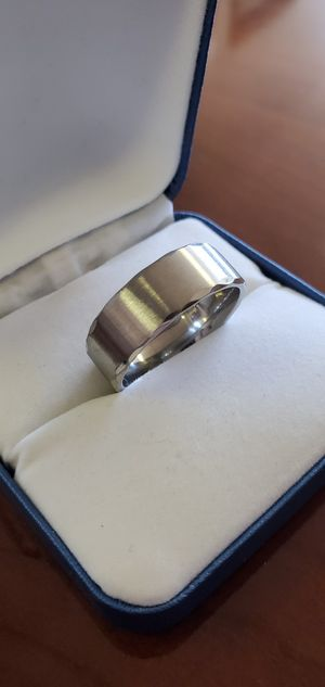 Mens Tungsten Wedding Band, Ring Size 7, 9, 10, 11 & 12 for Sale in Portland, OR