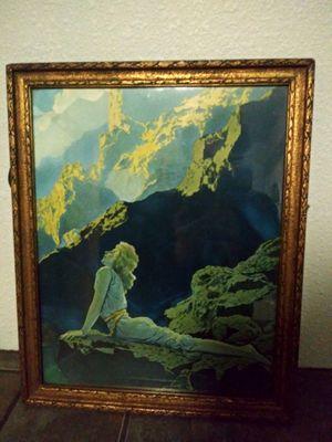 "Maxfield Parrish Original ""Wild Geese"" print 1924 Art Deco for Sale in Bellingham, WA"