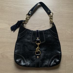 Limited Edition Black Coach Hobo Shoulder Bag for Sale in Irvine, CA