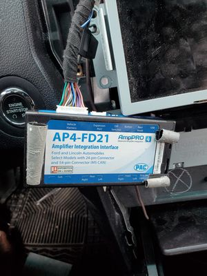 AmpPRO Audio Output Interface for select Ford Vehicles with Digital Audio System for Sale in Hutto, TX