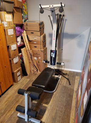 [delivery] Motivator 2 bow flex home gym bowflex for Sale in Mesa, AZ