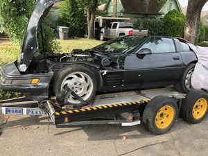 1992 Chevy Corvette C4 Runs and drives $1750.00 Clear blue Texas title for Sale in Dallas, TX