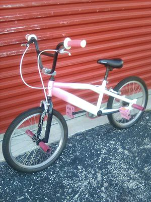 Custom painted and built pink white pearl BMX bike for Sale in Miami, FL