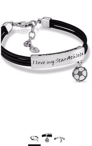 """Sterling Silver """" I Love My Little """" Charm bracelet for Sale in Ontario, CA"""