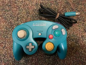 Nintendo GameCube emerald-blue controller for Sale in Hampton, VA