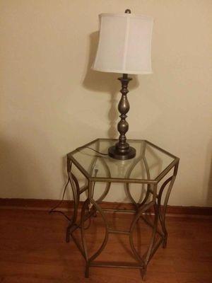 Lamp with bronze base for Sale for sale  Belleville, NJ