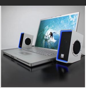 go groove computer gaming desk top speakers excellent sound please ask questions make an offer 🙏 for Sale in Redlands, CA