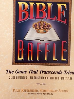 Games, Bible baffle for Sale in Port St. Lucie, FL