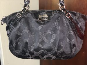 Large Black Coach Duffle Bag for Sale in Florissant, MO