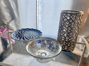 Set of 3 Glam Accents for Sale in Miami, FL