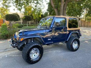 2001 Jeep Wrangler Inline 6 cylinder 4 X 4 for Sale in Modesto, CA