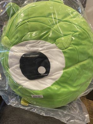 Disney Tsum Tsum Large Rolling Plushy - Monster's Inc. - Mike Wazowski - Brand New With Tags in Packaging for Sale in Grand Prairie, TX